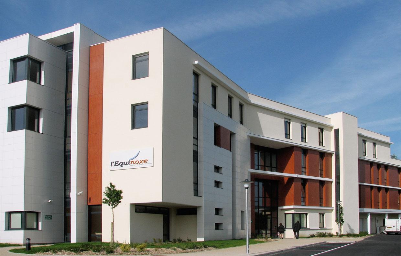 Centre d h bergement montigny le bretonneux 78 a5a architectes - Cabinet medical montigny les cormeilles ...