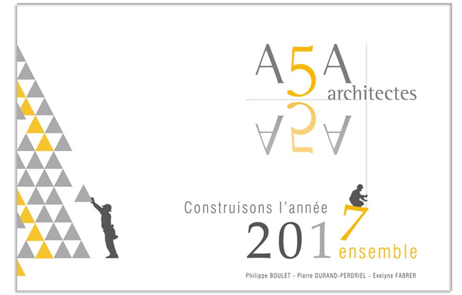 a5a architectes, meilleurs voeux