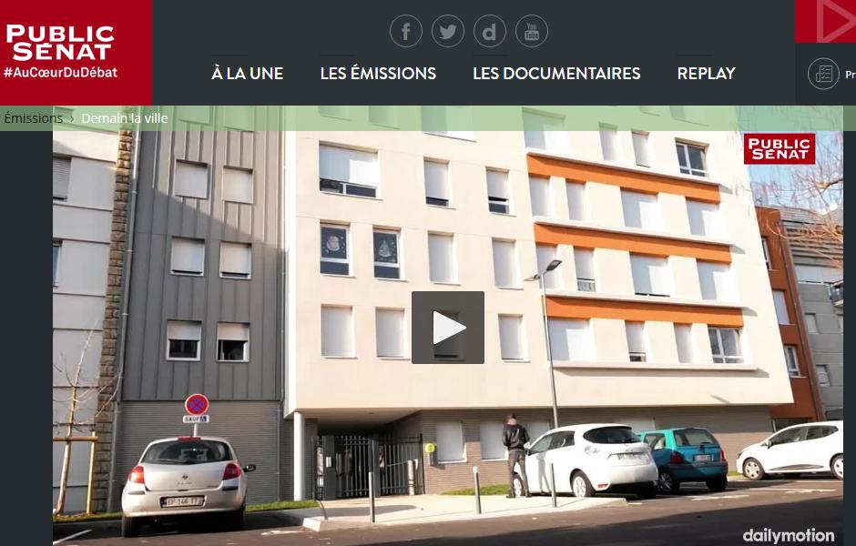 a5a, Film reportage Public Senat Residence sociale Charcot à Choisy Le Roi