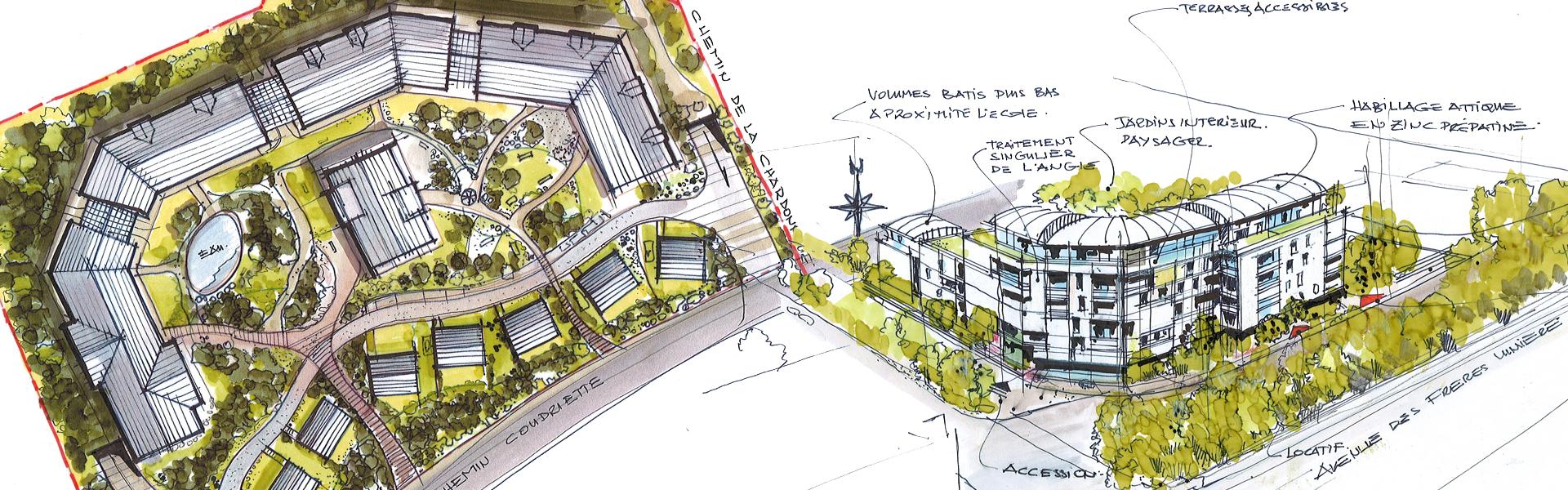 a5a architectes, études urbaines