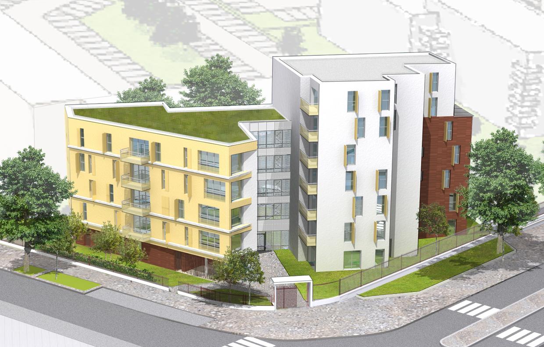 Immeuble de logements champigny sur marne 94 a5a for Parquet carrelage champigny sur marne