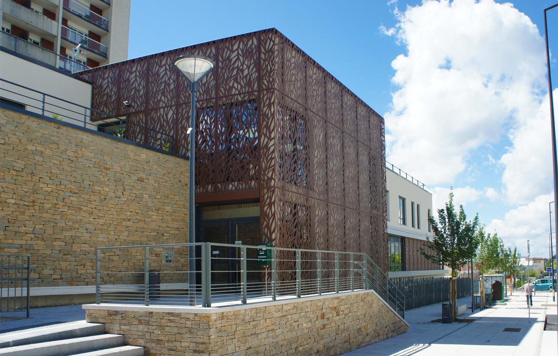 Pmi maison de quartier sevran 93 a5a architectes - Maison de quartier jardin parisien aulnay sous bois ...