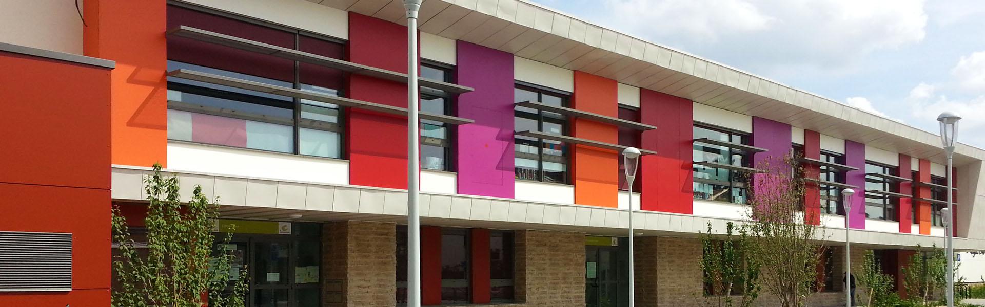 Ecole maternelle et élémentaire Angela Davis à La Courneuve
