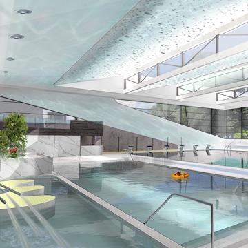 Centre Aquatique – LIEGE (Belgique)