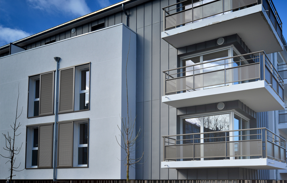 immeuble de logements lot 3c choisy le roi 94 a5a architectes
