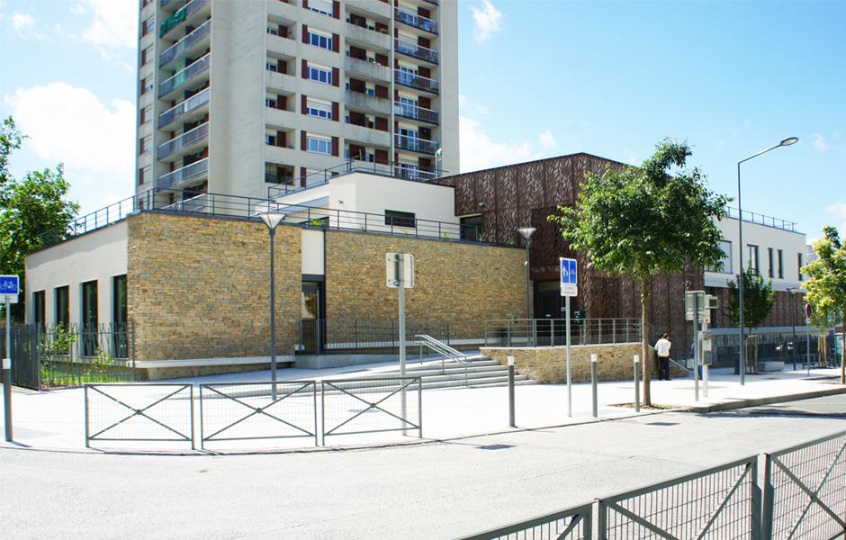 Pmi maison de quartier sevran 93 a5a architectes for Animateur maison de quartier
